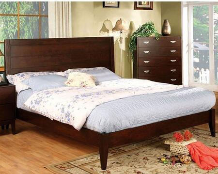 Furniture of America CM7910FBED Crystal Lake Series  Full Size Bed