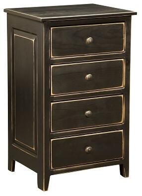 Chelsea Home Furniture 4650221B Skylar Series Freestanding Wood 4 Drawers Cabinet