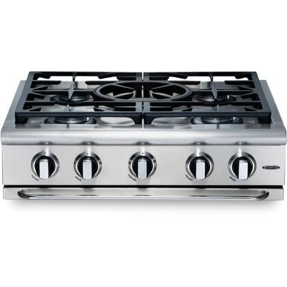 "Capital GRT305N 30"" Precision Series Natural Gas Sealed Burner Style Cooktop, in Stainless Steel"