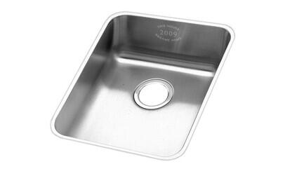 "Elkay ELUH141810BAP Gourmet Statement 16-1/2"" Undermount Single Bowl Stainless Steel Sink"