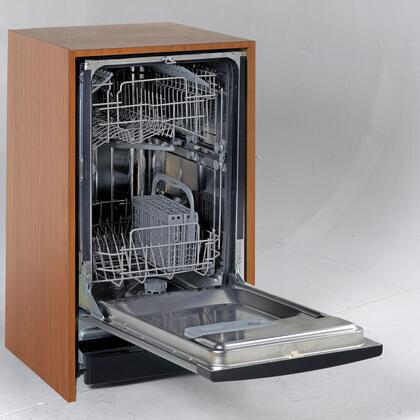 Avanti DW182ESS  Built-In Full Console Dishwasher with in Stainless Steel