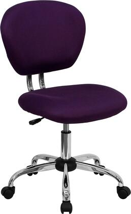 """Flash Furniture H2376FPURGG 23.5"""" Adjustable Contemporary Office Chair"""