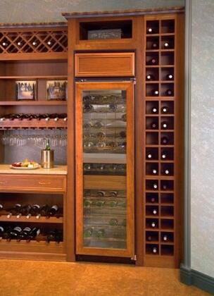 "Northland 18WCBGXR 18"" Built-In Wine Cooler, in Stainless Steel"