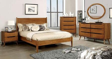Furniture of America CM7386ACKBEDSET Lennart California King