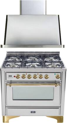 Ilve 720039 Majestic Kitchen Appliance Packages