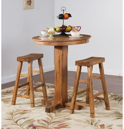 Sunny Designs 1165ROBT2SS Sedona Bar Table Sets