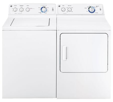 GE GTWP2000FWWPAIR1 Washer and Dryer Combos