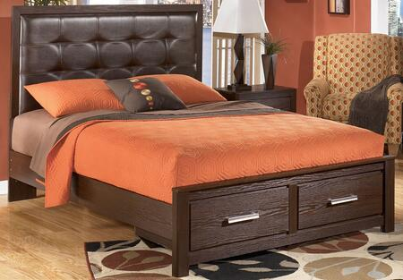 Milo Italia BR2334673789QRS Wright Series  Queen Size Panel Bed