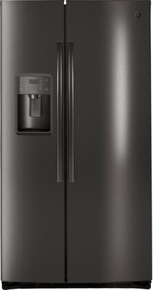 Ge Profile Pse25kblts 36 Inch Side By Side Refrigerator