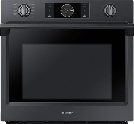 "Samsung Appliance NV51K7770Sx 30"" Single Wall Oven with 5.1 cu. ft. Capacity, Dual Fan True Convection, Steam Cooking, SpotLight Lighting and Wifi Connection, in"