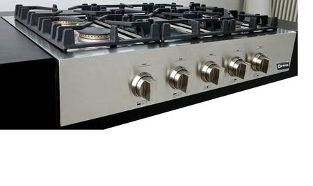 Verona VECTGP365SS  Gas Sealed Burner Style Cooktop