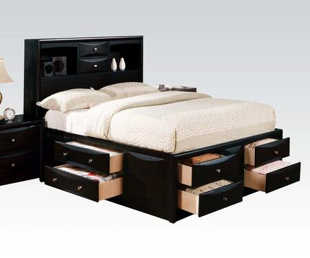 Acme Furniture 14110Q Manhattan Series  Queen Size Platform Bed