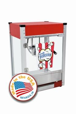 Paragon 11048x0 Cineplex 4-Oz. Popcorn Machine with Built-In Warming Deck