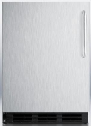 """Summit FF6BBISSTBLHD 24"""" Built In All Refrigerator"""