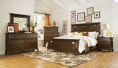 Broyhill 4364KPANELNCDM Estes Park King Bedroom Sets