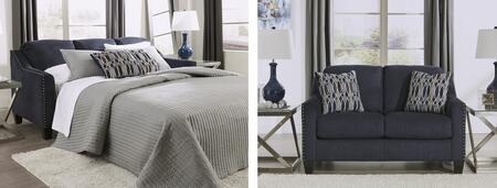 Milo Italia MI8056QSSLMBLU Madden Living Room Sets