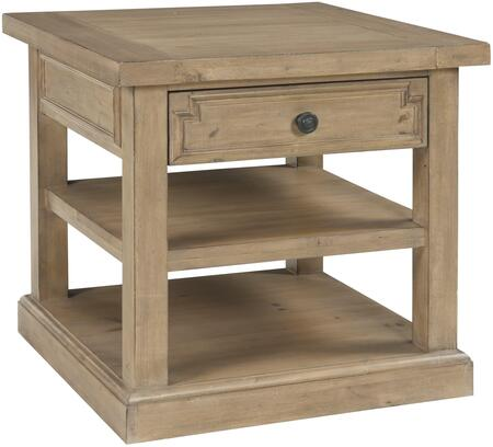 Donny Osmond Home 705407 Florence Series Modern Wood Square 1 Drawers End Table
