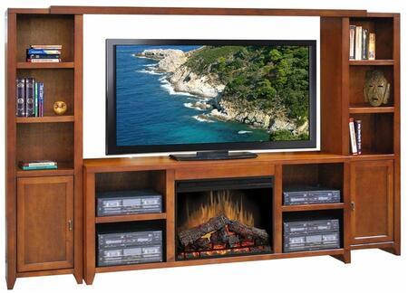 Legends Furniture ML5103SPR Metro Loft Series  Fireplace
