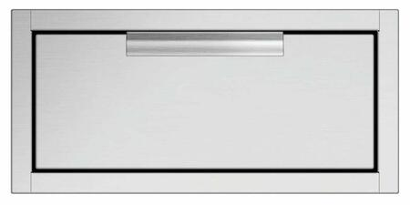 """DCS TD 20"""" Double Tower Drawer with Insulated Door, Full Extension Slide and Soft Close"""