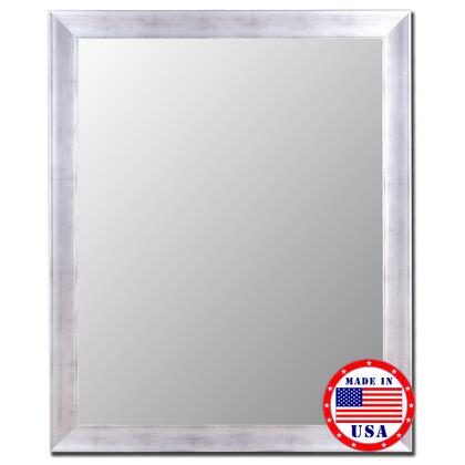 Hitchcock Butterfield 20010X Vintage Silver Framed Wall Mirror