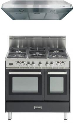 Verona VER2PC36DFUCBKKIT1 Kitchen Appliance Packages