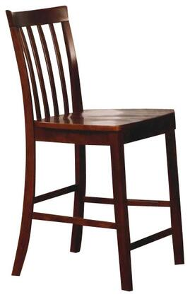 Coaster 101039WLN Pines Series Residential Not Upholstered Bar Stool