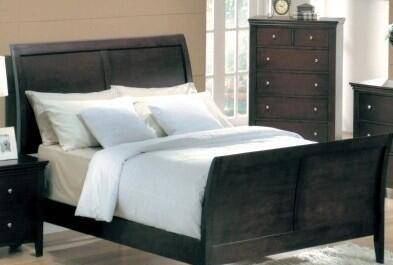 Yuan Tai MN4040Q Montgomery Series  Queen Size Sleigh Bed