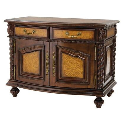 Ambella 00924230002 Cheyenne Series Rectangular Wood Night Stand  Appliances Connection