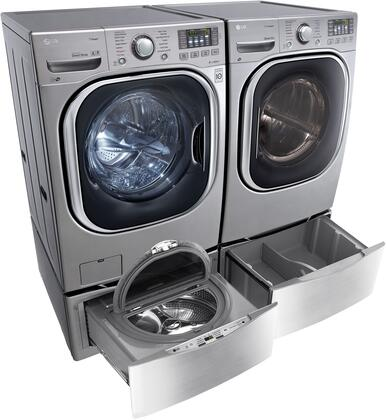 LG WM4370HVAEDPEDSPAIR1 Washer and Dryer Combos
