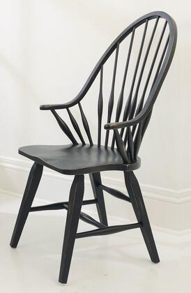 Broyhill 539784B Attic Heirlooms Series Rustic Not Upholstered Veneers Frame Dining Room Chair