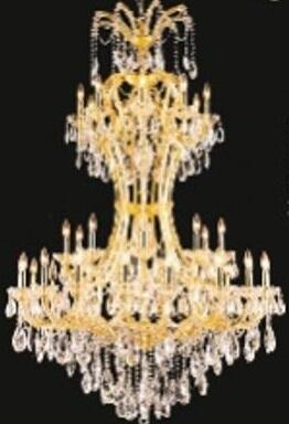 "J & P Crystal Lighting Maria Thersea SP2800D46 46"" Wide Chandelier in X Finish"