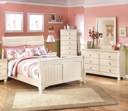 Milo Italia BR303FSLBDM Burton Full Bedroom Sets