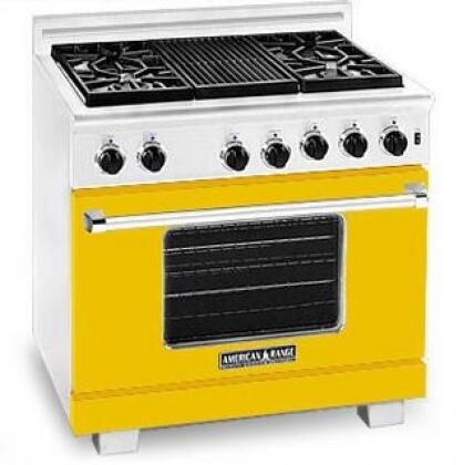 American Range ARR364GDLYW Heritage Classic Series Liquid Propane Freestanding  Appliances Connection
