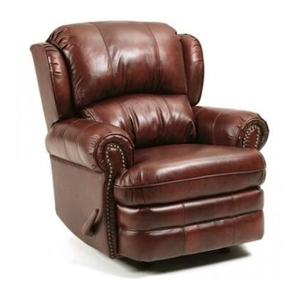Lane Furniture 5421S63516330 Hancock Series Traditional Leather Wood Frame  Recliners