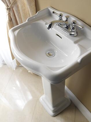 Barclay 3874WH White Bath Sink
