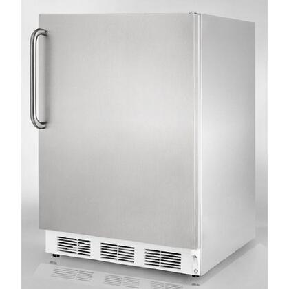 Summit FF6ADACSS  Compact Refrigerator with 5.5 cu. ft. Capacity in Stainless Steel