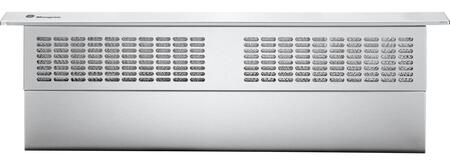 GE Monogram ZVB3XSTSS Telescopic Downdraft with 390-CFM Performance, Remote-Mounted Control, Removable Grease Filters, Variable-Speed Blower with Electronic Controls and Stainless Steel Vent Body