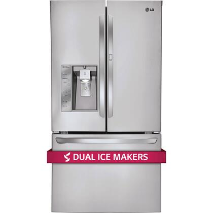 Lg Lfx29945st French Door Refrigerator With 29 0 Cu Ft