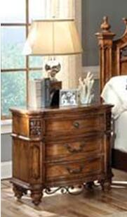 Harden 101402  Rectangular Wood Night Stand