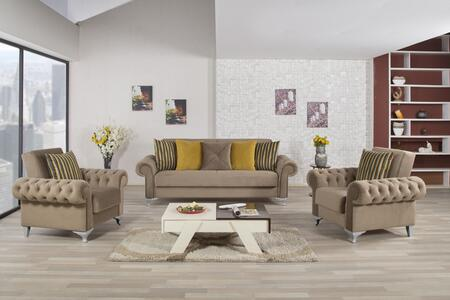 Casamode ICSB2ACBN Living Room Sets