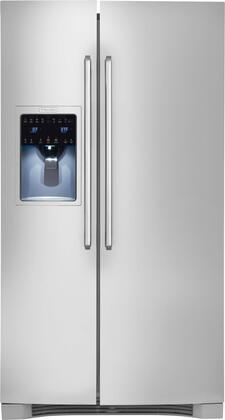 "Electrolux EI26SS30JS 36"" IQ-Touch Series Side by Side Refrigerator with 25.93 cu. ft. Capacity in Stainless Steel"
