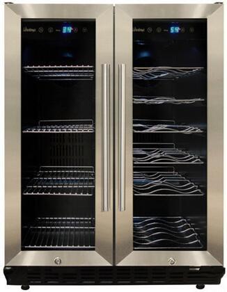 Vinotemp VT36 N/A Capacity Butler Series Freestanding Compact Beverage Center |Appliances Connection