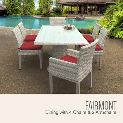 FAIRMONT RECTANGLE KIT 4ADC2DCC TERRACOTTA