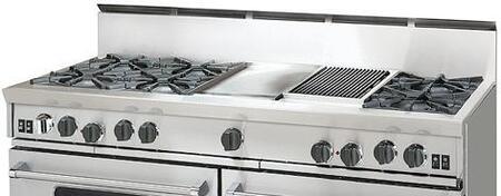 BlueStar RGTNB608CBSS  Gas Open Burner Style Cooktop