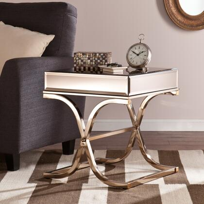Holly & Martin CK4X72 Ava Mirrored End Table