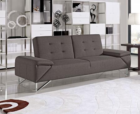 VIG Furniture VGMB1467 Divani Casa Briza Series Chair Sleeper Fabric Sofa