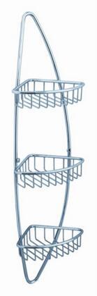 Fresca FAC0105X Magnifico 3 Tier Corner Wire Basket