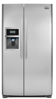 Frigidaire FGUS2645LF Freestanding Side by Side Refrigerator |Appliances Connection