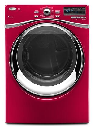 Whirlpool WED95HEX Duet Steam 7.4 cu. ft. Capacity Electric Dryer, 11 Automatic Cycles, 6th Sense Technology, 5 Temperature Settings, LED Display in