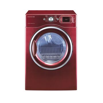 Daewoo DWRWG5413RC  Gas Dryer, in Red